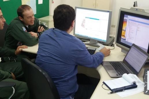 Novo software desenvolvido pelo Instituto de Estudos Avançados foi implantado no Esquadrão Poker, no RS