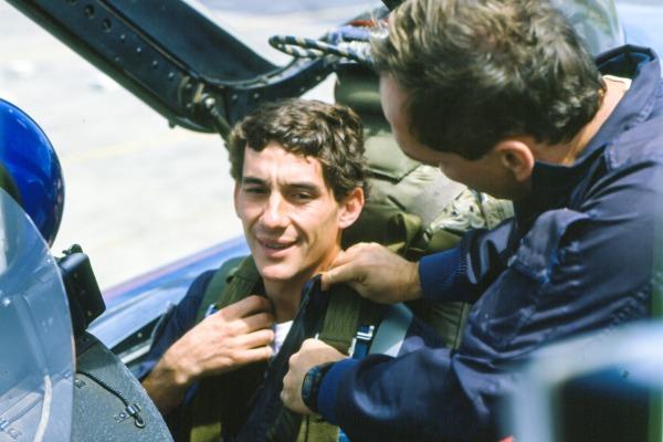 Ouça entrevista e conheça os detalhes do voo que Ayrton Senna realizou em 1989