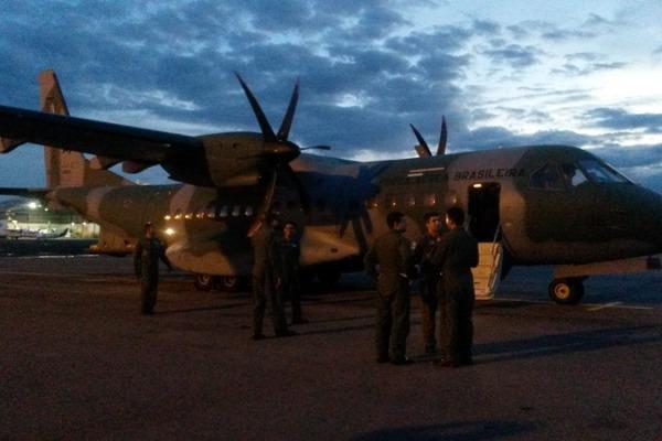 Esquadrão Arara cumpre missão de apoio ao Equador  Tenente Lorena