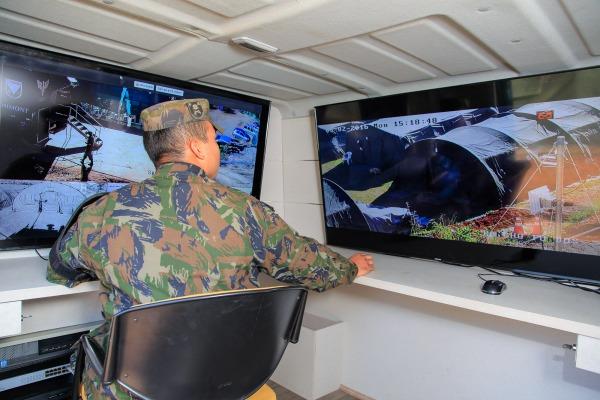 Militares realizaram testes durante o Exercício Tropeiro em Minas Gerais