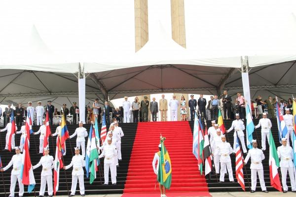 Ministro ressaltou importância de reverenciar a memória dos brasileiros que se uniram para defender o Brasil