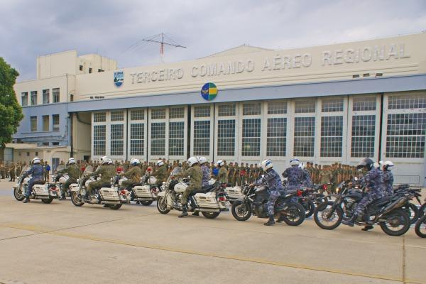 Militares da FAB e da polícia militar do RJ tiveram instruções tiveram instruções ao longo de dois meses