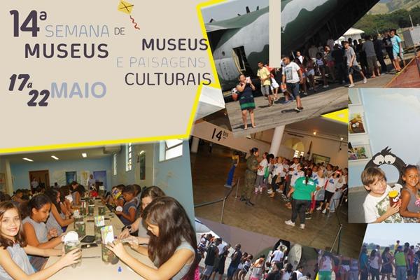 Evento marca comemoração ao Dia Internacional de Museus (18/05)