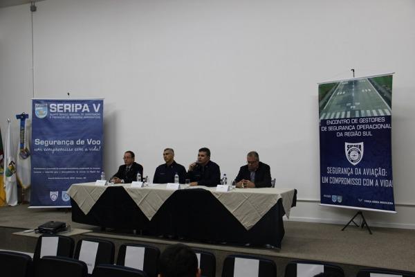 Evento reuniu 70 gestores de segurança operacional em Porto Alegre (RS)