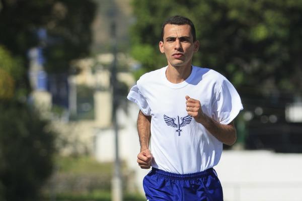 O atleta ingressou na FAB em 2014 no Quadro de Sargentos Convocados