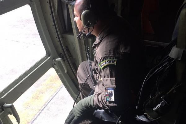 Atividade que reúne cerca de cem militares é realizada a partir da Base Aérea de Florianópolis