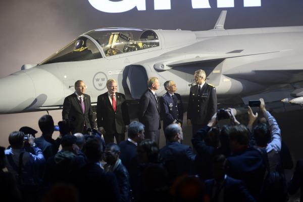 Força Aérea Brasileira foi uma das protagonistas da cerimônia, uma vez que adquiriu 36 aeronaves do novo modelo