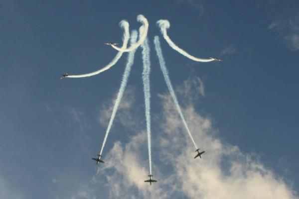 Cascavel, no Paraná, Marília e São José do Rio Preto, ambas em São Paulo, terão show aéreo dos A-29