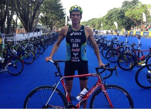 Diogo Sclebin é o único atleta masculino brasileiro da modalidade  a participar da competição