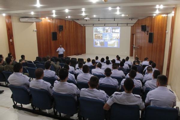 Palestras visam aumentar níveis de segurança durante evento