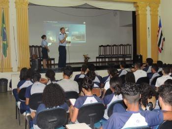 Circuito Espacial nas Escolas Estaduais   S1 Ramos