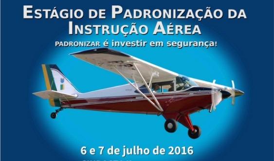 O Estágio é destinado a pilotos, instrutores de voo, membros da direção de aeroclubes, escolas e faculdades de ciências aeronáuticas