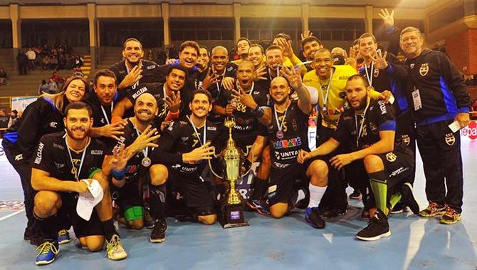 Militares que compõem a equipe de Handebol ganharam ouro em torneio internacional