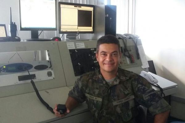 O suboficial Cruz será o segundo miltiar da FAB a participar do revezamento