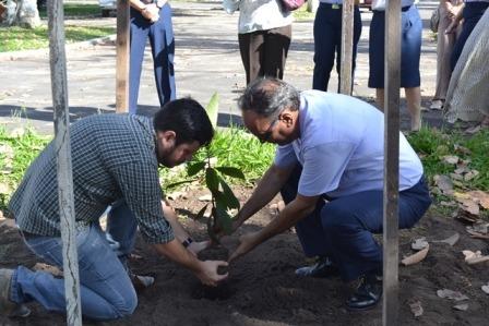 O evento também contou com ações de conscientização para preservação do meio ambiente