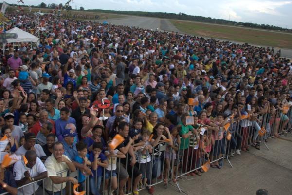 Demonstração em Divinópolis  Arquivo EDA