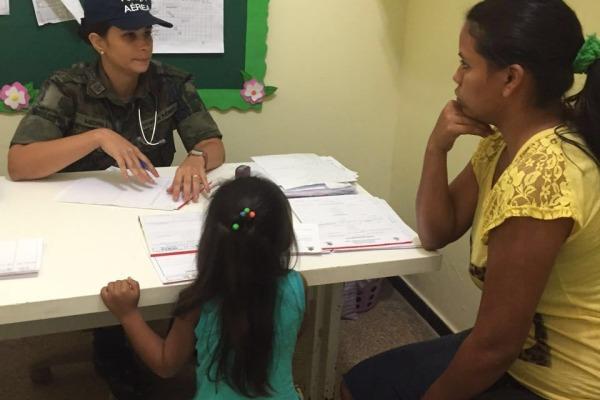 A ação também levou exames específicos para a população do município de Iranduba
