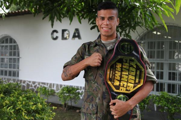 Soldado faturou o título de campeão na categoria até 61 kg no Rio de Janeiro