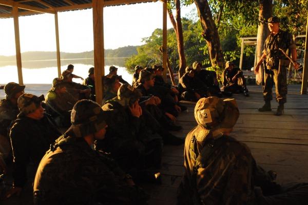 CABAS proporciona ao aluno conhecer a região amazônica