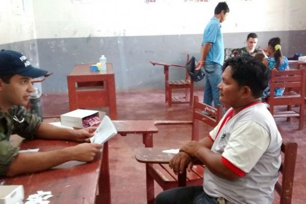 FAB realizou atendimentos em Belém do Solimões  Arquivo FAB