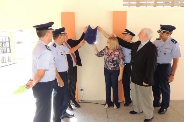 Descerramento de placa da nova ECE  Sd RODRIGO/CLA