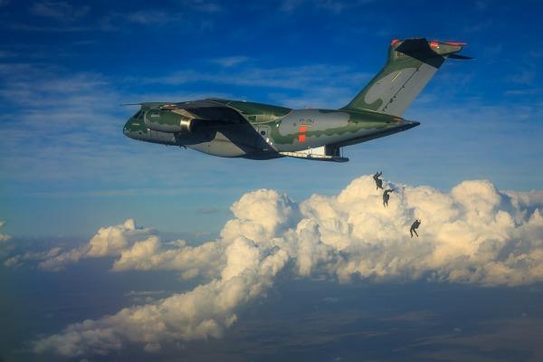 Testes para o congelamento aerodinâmico do KC-390 estão acontecendo em Campo Grande (MS)