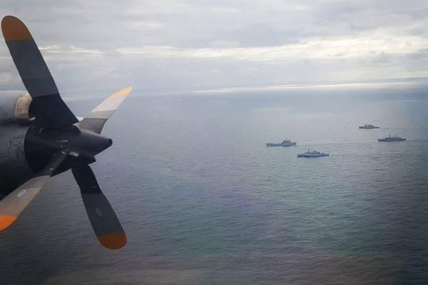 O esquadrão cumpriu dois eventos em 11h de voo