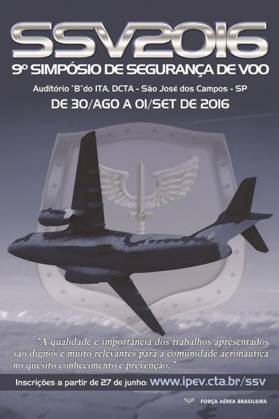 Cartaz de divulgação do SSV 2016 | CECOMSAER