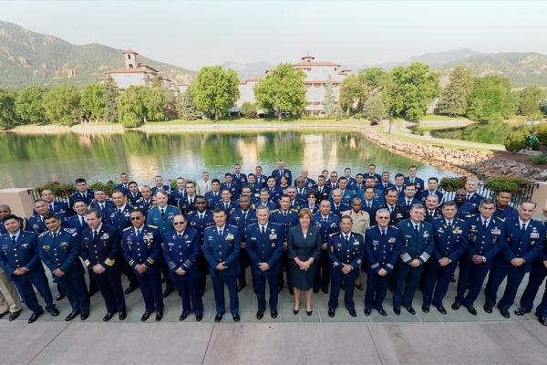 Vinte Forças Aéreas participam do encontro