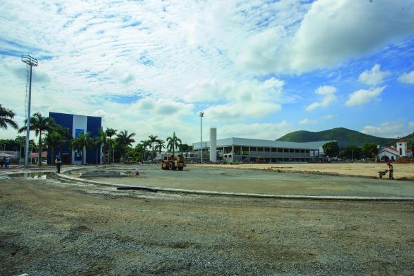 O complexo deverá ser entregue ao comitê organizador local no dia 18 de julho