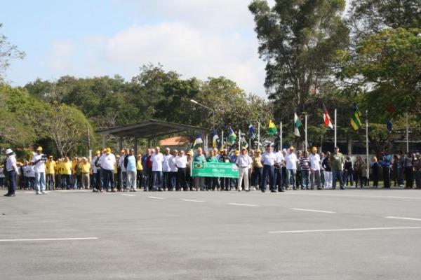 Evento foi realizado na sede da EEAR, em Guaratinguetá (SP)