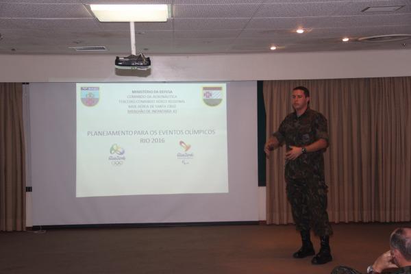 FAB atuará no receptivo, controle do tráfego aéreo, defesa aérea e segurança das instalações