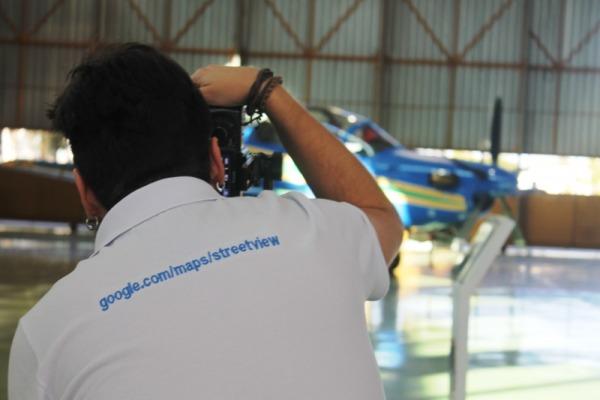 Visitante poderá conhecer interior da aeronave A-29 Super Tucano