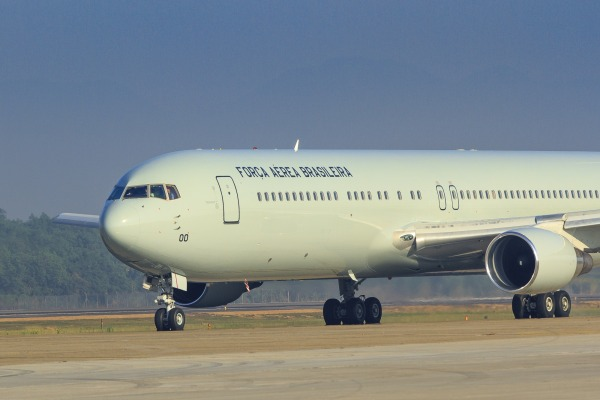 Aeronave, que vai trazer nova capacidade de transporte aerologístico para a Força Aérea Brasileira, foi entregue hoje no Rio de Janeiro