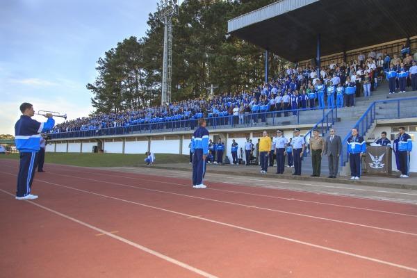 Abertura oficial da competição contou com a presença do Comandante da Aeronáutica