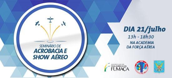 Evento é voltado para interessados em aviação acrobática
