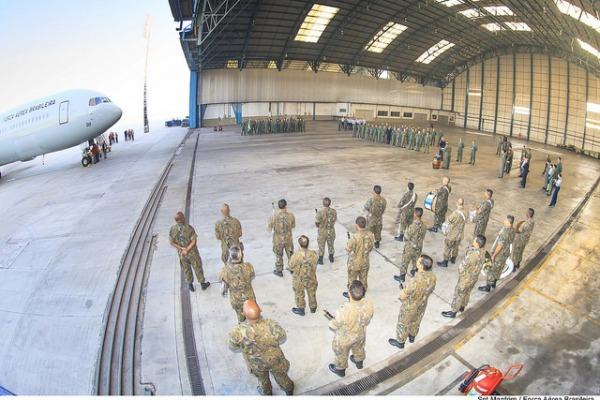 Aeronave, que foi locada por três anos, será utilizada em missões de transporte de cargas e de pessoal