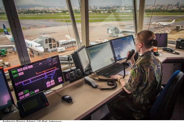 Vagas são para controle de tráfego aéreo e guarda e segurança