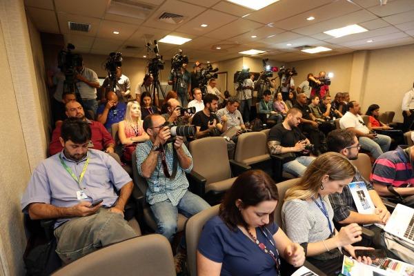 Apresentação aos jornalistas aconteceu no DECEA, nesta quinta-feira (14/07)