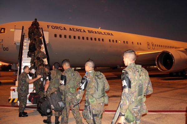 54 militares de Unidades da Região Norte vão trabalhar nas Olimpíadas