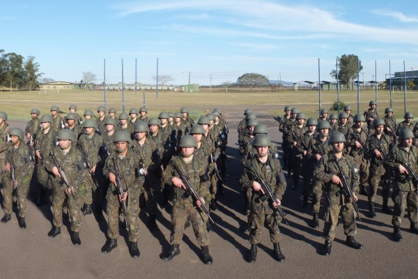 Militares tiveram treinamento para atuação durante o evento