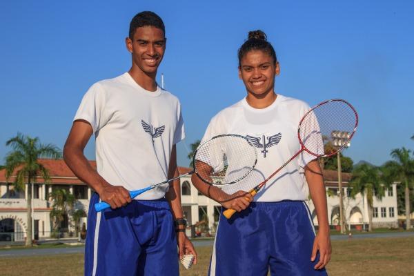 Ygor Coelho e Lohaynny Vicente são sargentos da FAB e vão competir nas categorias simples masculino e feminino