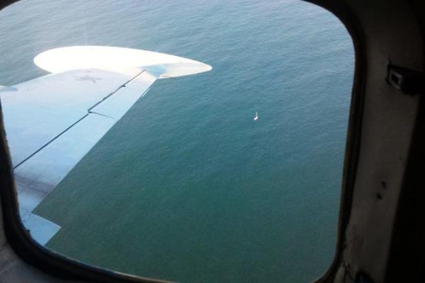 O veleiro partiu de Angra dos Reis (RJ) com destino a La Plata e estava desaparecido desde nove de julho