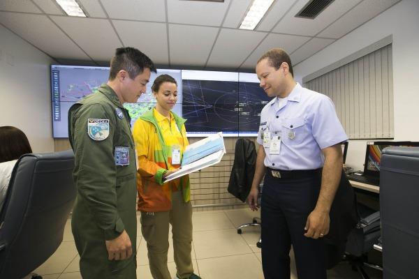 A ação foi coordenada em atuação conjunta da defesa e controle de tráfego aéreo