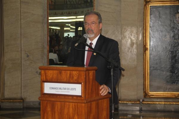 Solenidade foi presidida pelo Ministro da Defesa