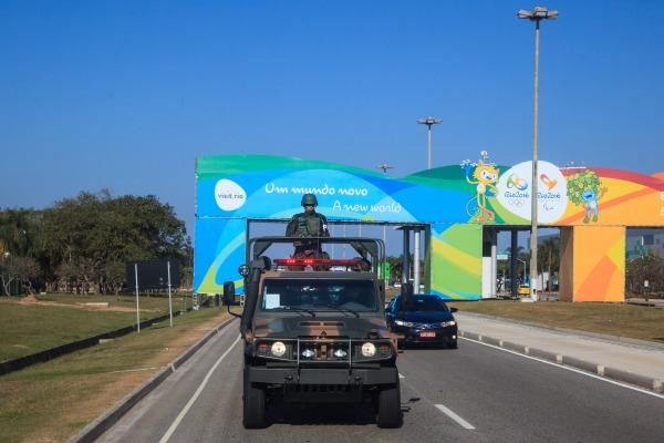 Aeroporto do Galeão e vias públicas de acesso