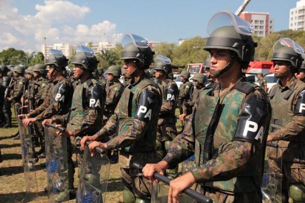 Batalhão de Infantaria de Aeronáutica Especial de Manaus (BINFAE-MN) e Segundo Grupo de Defesa Antiaérea (2° GDAAE) estiveram presentes