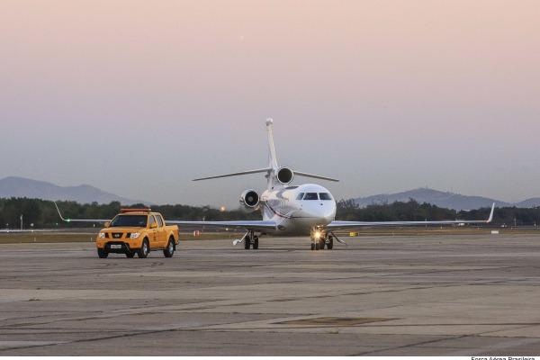 Chefe de estado chegou ao Rio de Janeiro às 6h21desta segunda-feira (01/08)