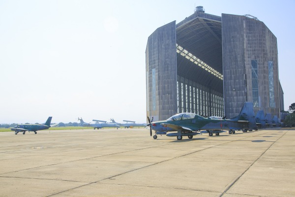 Doze esquadrões foram deslocados para atuar a partir do Rio de Janeiro