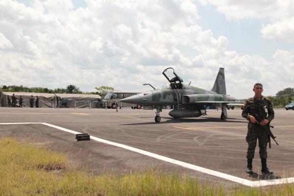 Unidade que opera aeronaves F-5 integra sistema de defesa aérea para Jogos Olímpicos